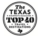 click here for Texas top 40 travel destinations